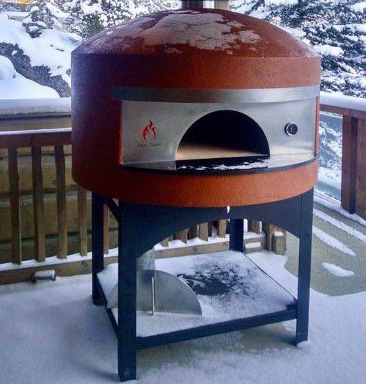 gas brick oven napoli famiglia forno classico