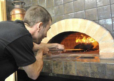 Brick oven forno classico